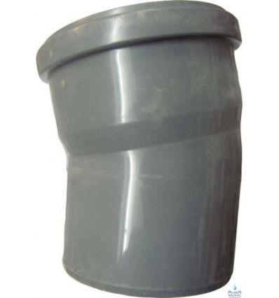 Колено канализационное ПП 110/15°