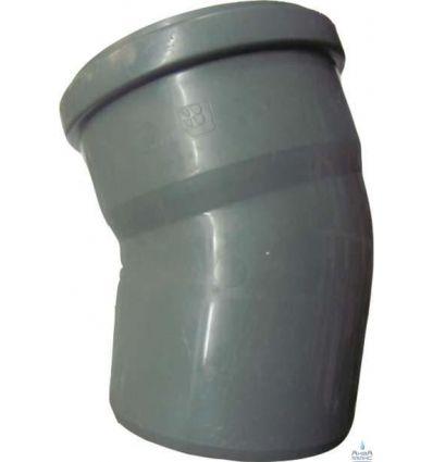 Колено канализационное ПП 110/20°
