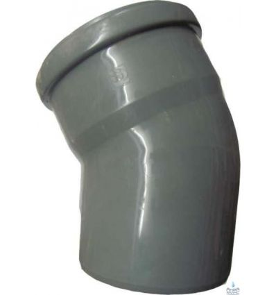 Колено канализационное ПП 110/30°