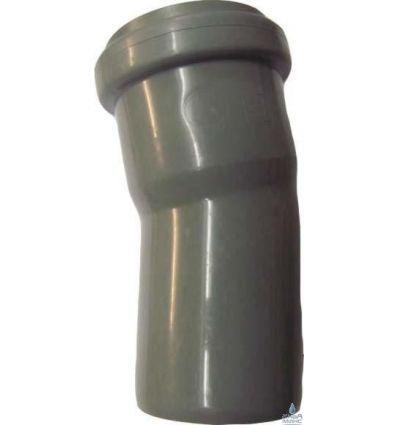 Колено канализационное ПП 50/15°