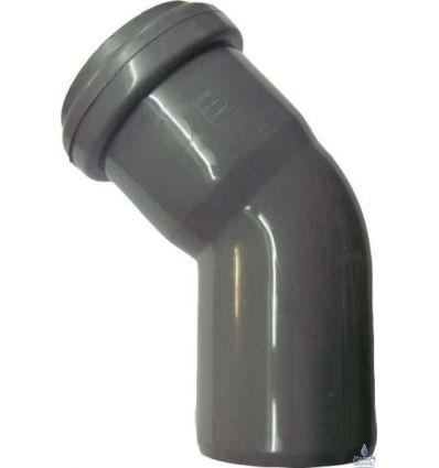 Колено канализационное ПП 50/45°