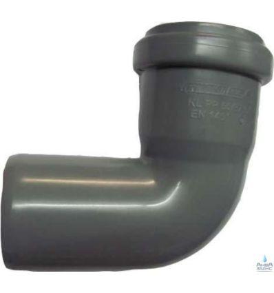 Колено канализационное ПП 50/90°