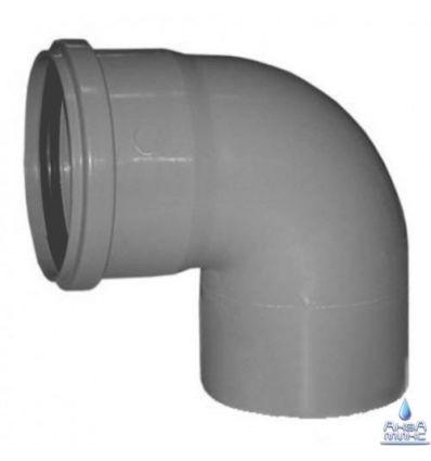 Колено канализационное ПП 110/90°