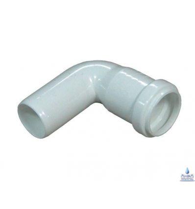 Колено канализационное ПП 32/90°