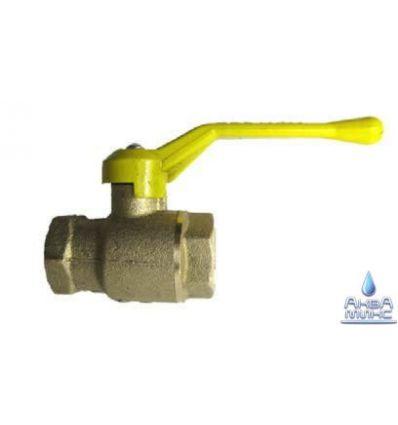 Кран шаровый DN 15 PN 1.6 Мпа 11б27п4 газ