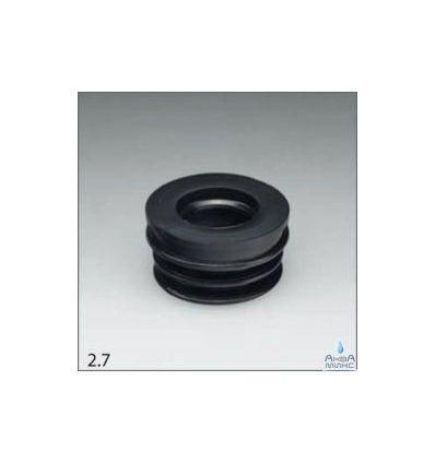 Манжета переход D32/50 трехлепестковая черная