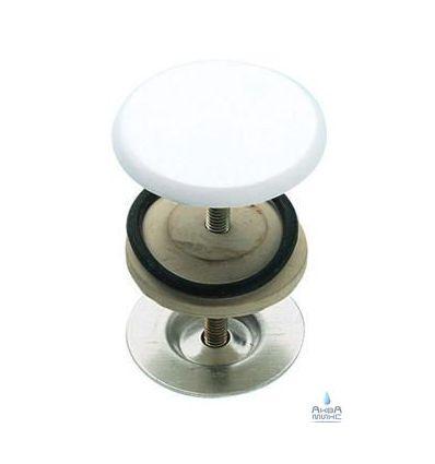 Заглушка декоративная в раковину RR 695 CO белая
