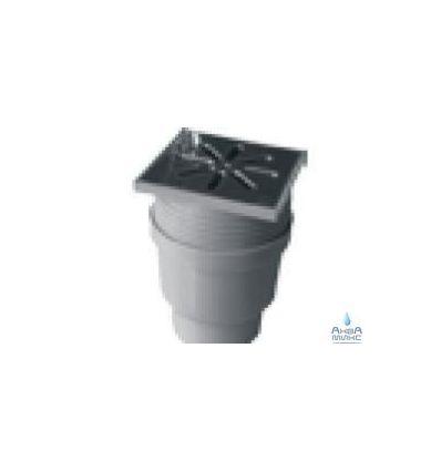 Трап канализационный нерж ПВХ 110 прямой