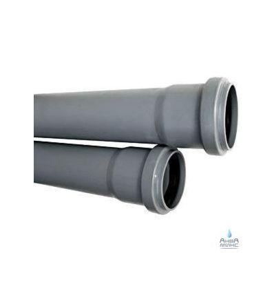 Труба канализационная ПВХ 50х0.5м